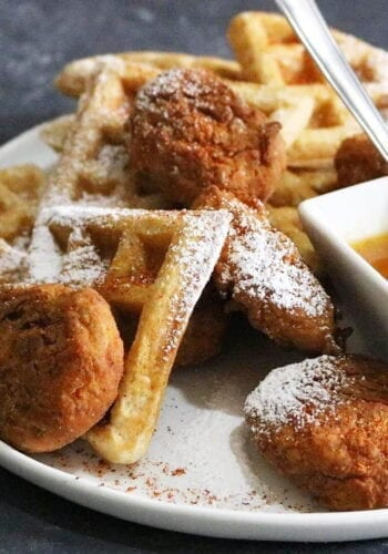 Final Chicken and Waffles