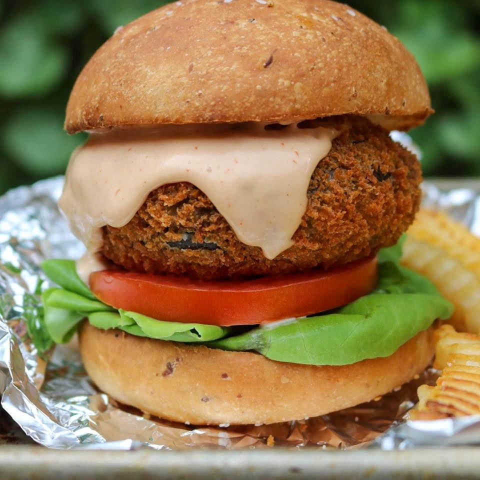 Final Shake Shack shroom burger