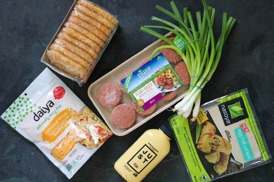 Vegan egg roll ingredients