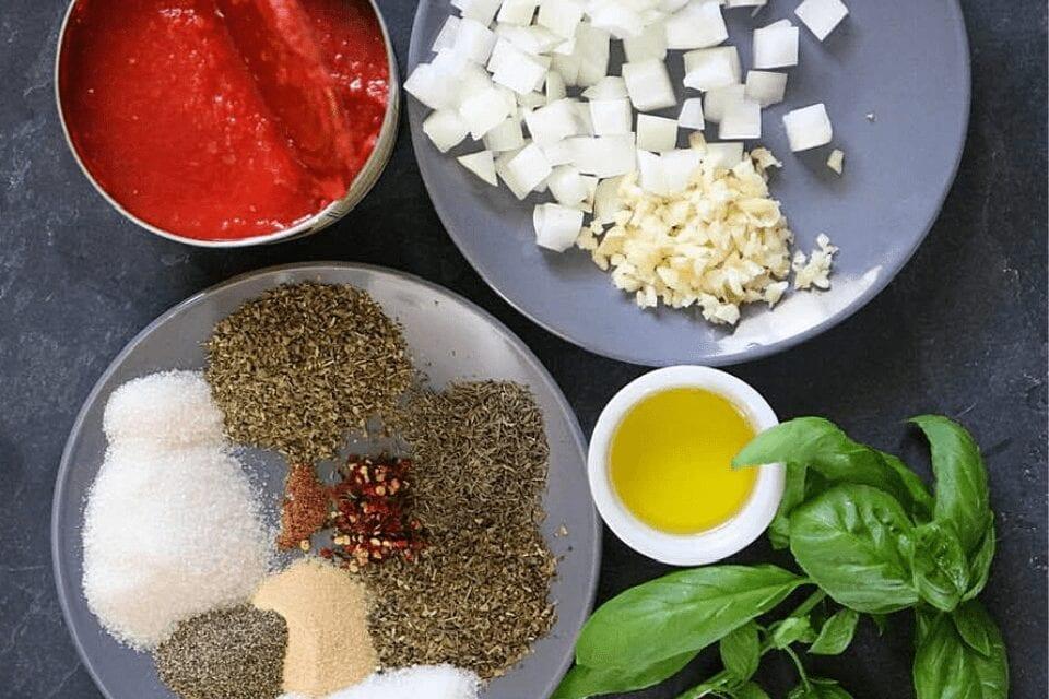Easy marinara sauce ingredients