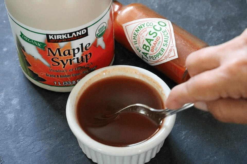 Tobasco maple syrup