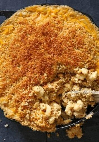 Final vegan mac and cheese