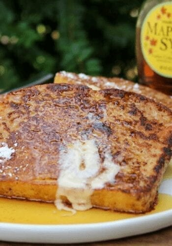 Final vegan French toast
