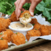 Final fried mac and cheese balls