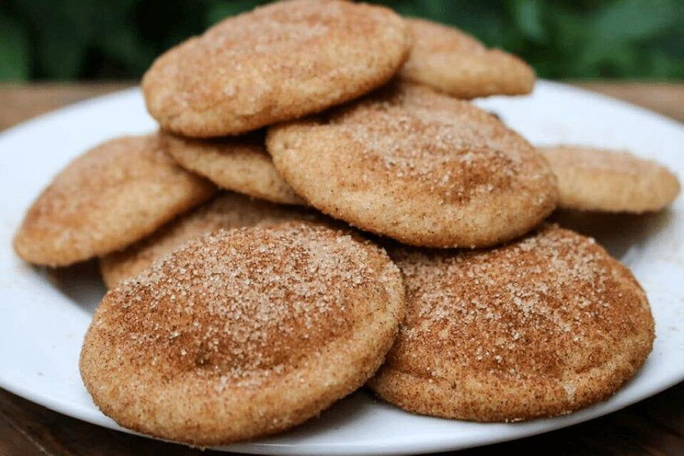 Plate full of cookies
