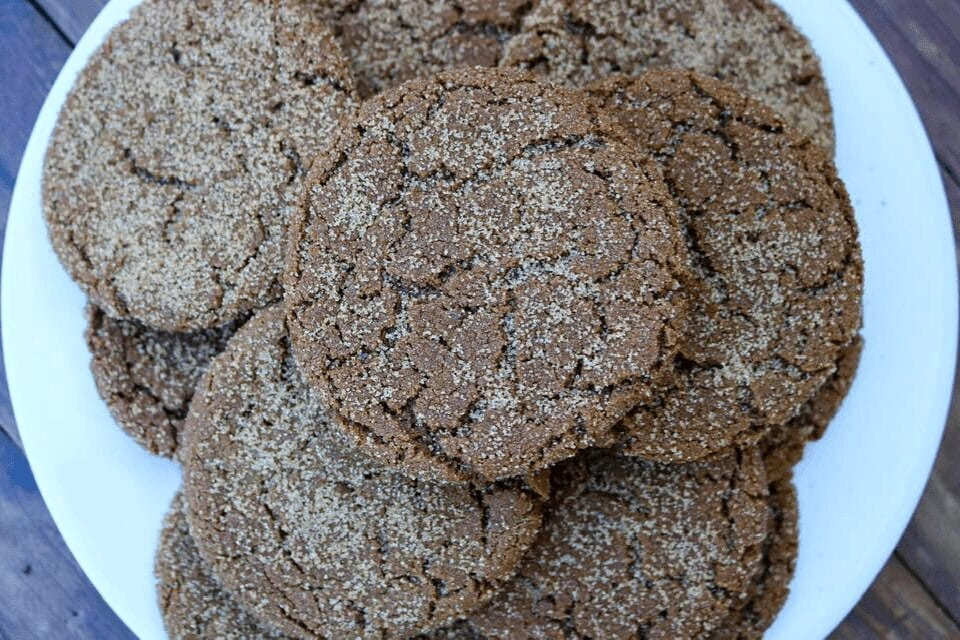 A close up look at the cookies
