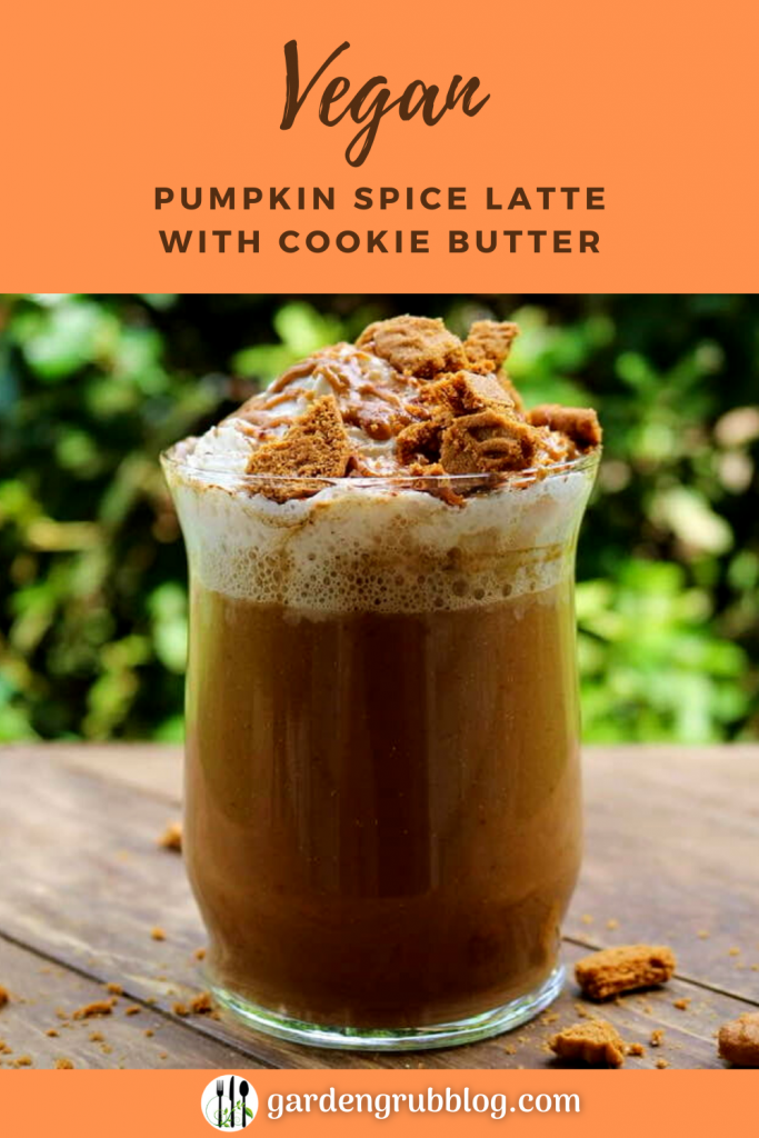 Pumpkin spice latte pin for Pinterest